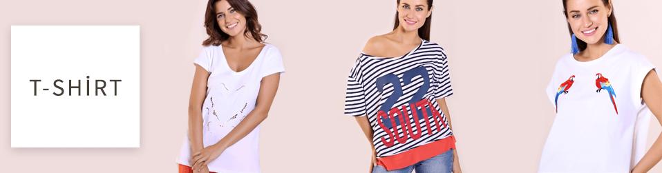Kadın T-Shirt Modelleri