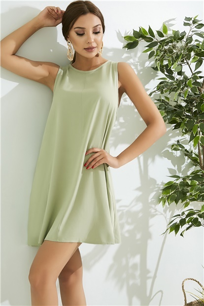 Relax Fit Dress - KKHAKI