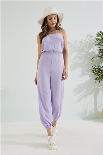 Relax Fit Jumpsuit - LILA
