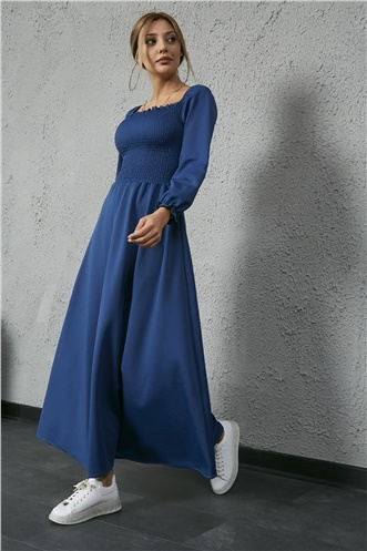 Long Dress - INDIGO